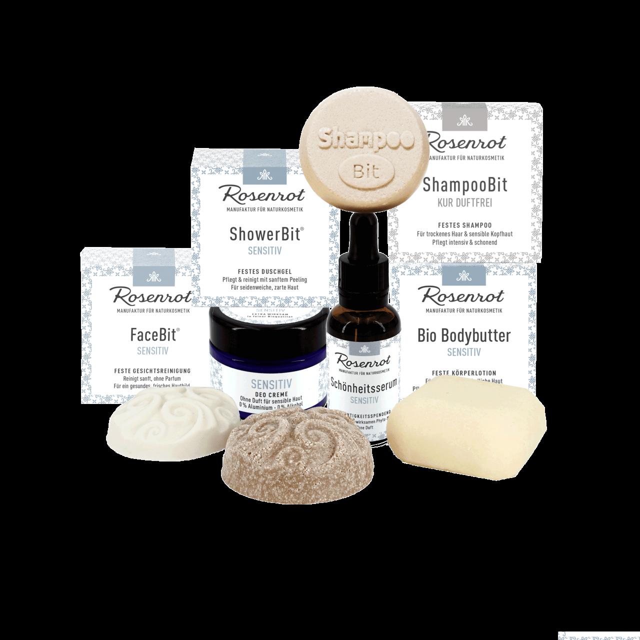 Rosenrot Sensitiv Naturkosmetikpflege-Set
