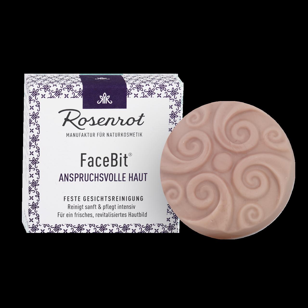 FaceBit® - festes Waschgel - Anspruchsvolle Haut