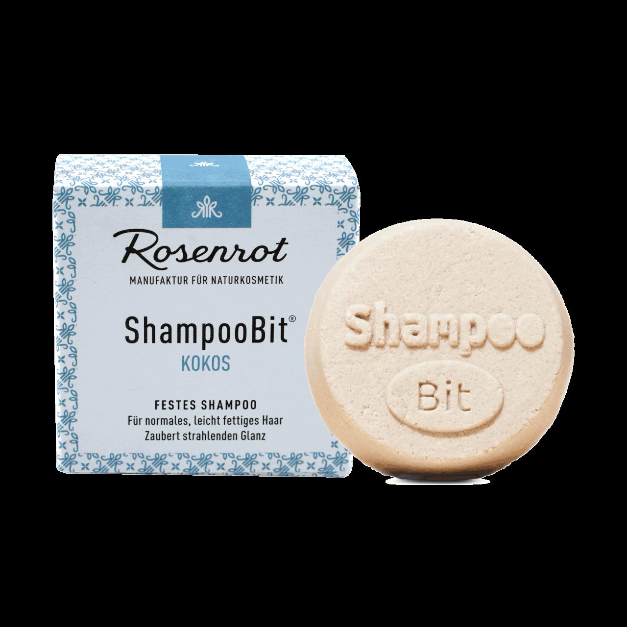 ShampooBit® - solid Shampoo Coconut