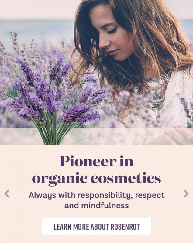 Pioneer in organic cosmetics