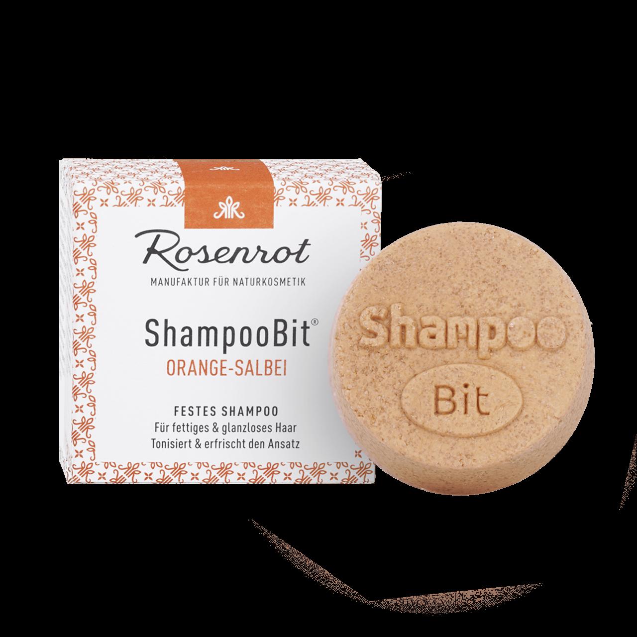 ShampooBit® - festes Shampoo Orange-Salbei