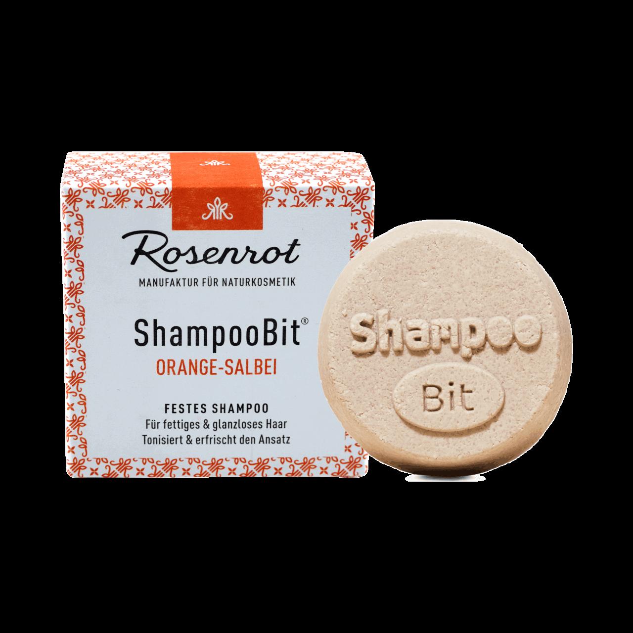 ShampooBit® - solid Shampoo Orange-Sage
