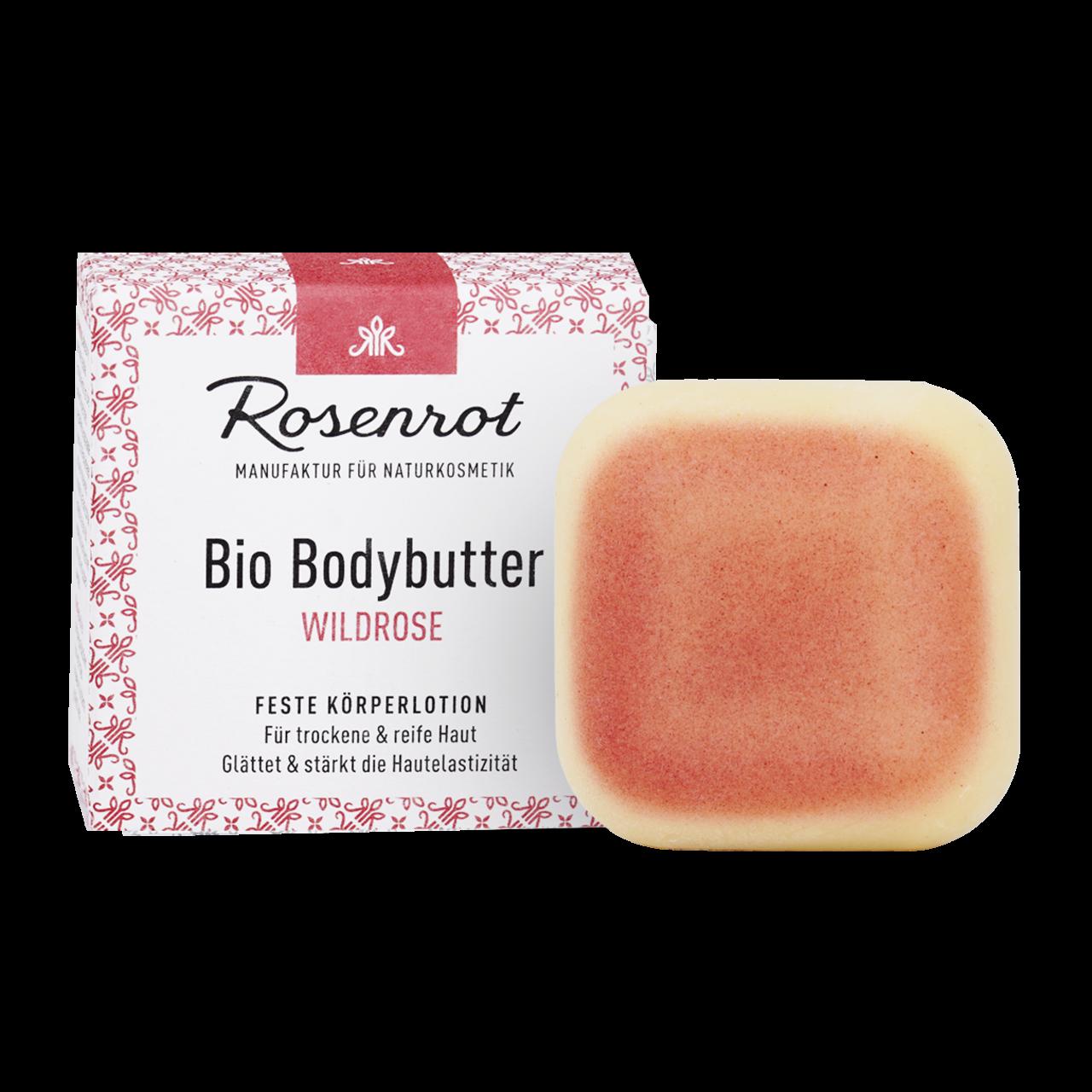 Organic Bodybutter Wild Rose