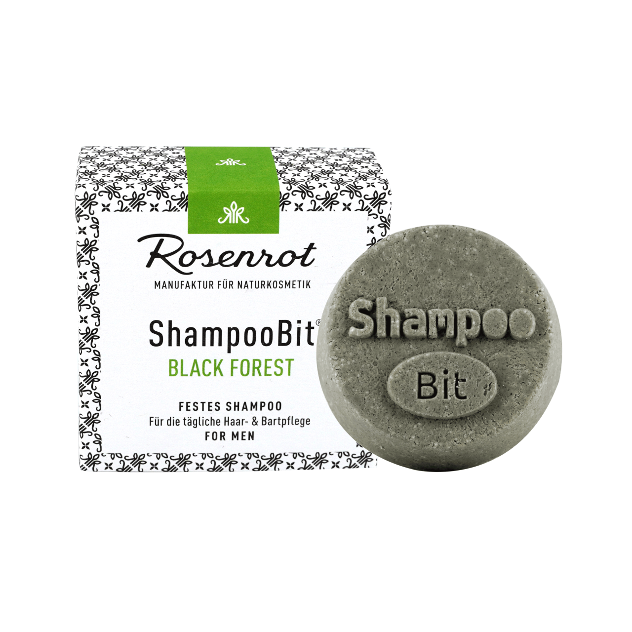 ShampooBit® - festes Shampoo MEN Black Forest