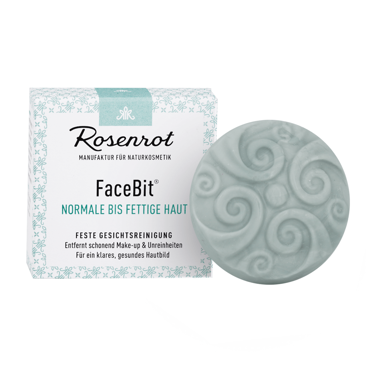 FaceBit® - Solid Wash Gel Facial Cleansing - Normal to oily skin