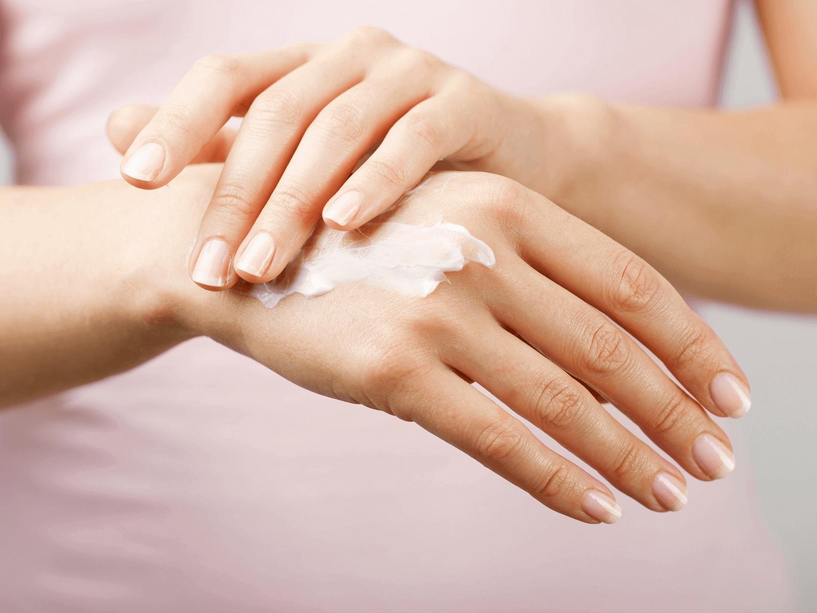 Handreinigung / Handpflege