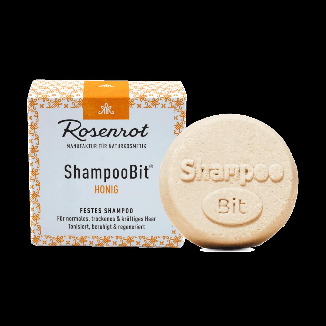 ShampooBit® - solid Shampoo Honey