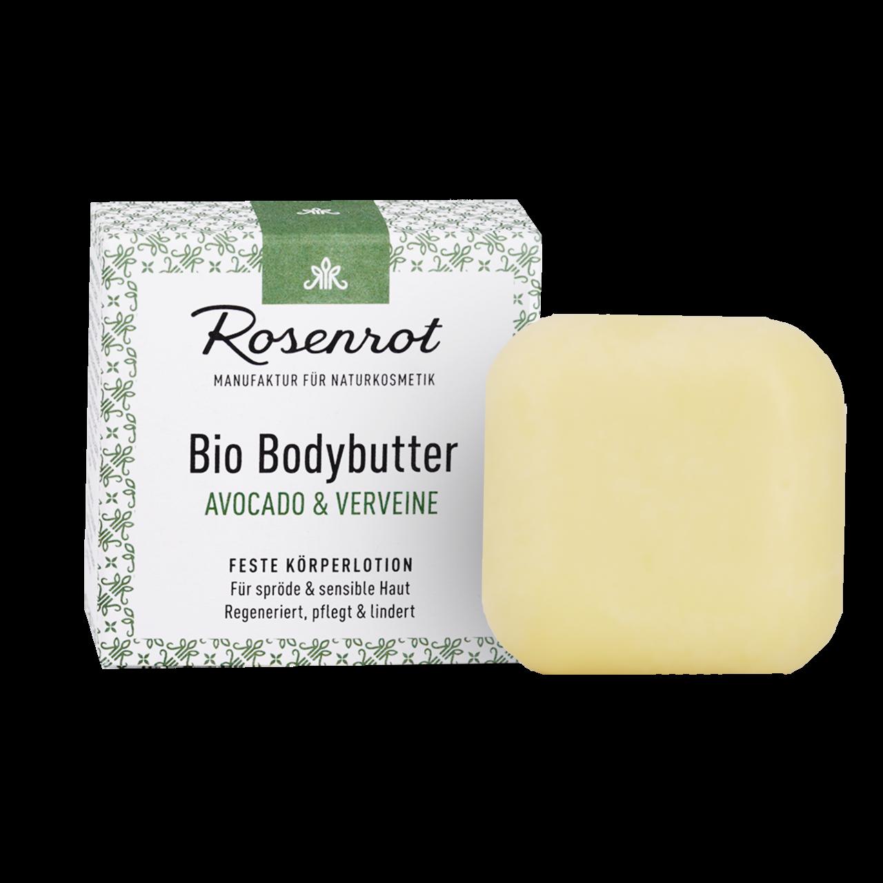 Organic Bodybutter Avocado & Verveine