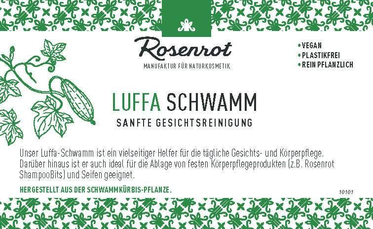 Produktschilder Luffa & Hanf Schwamm
