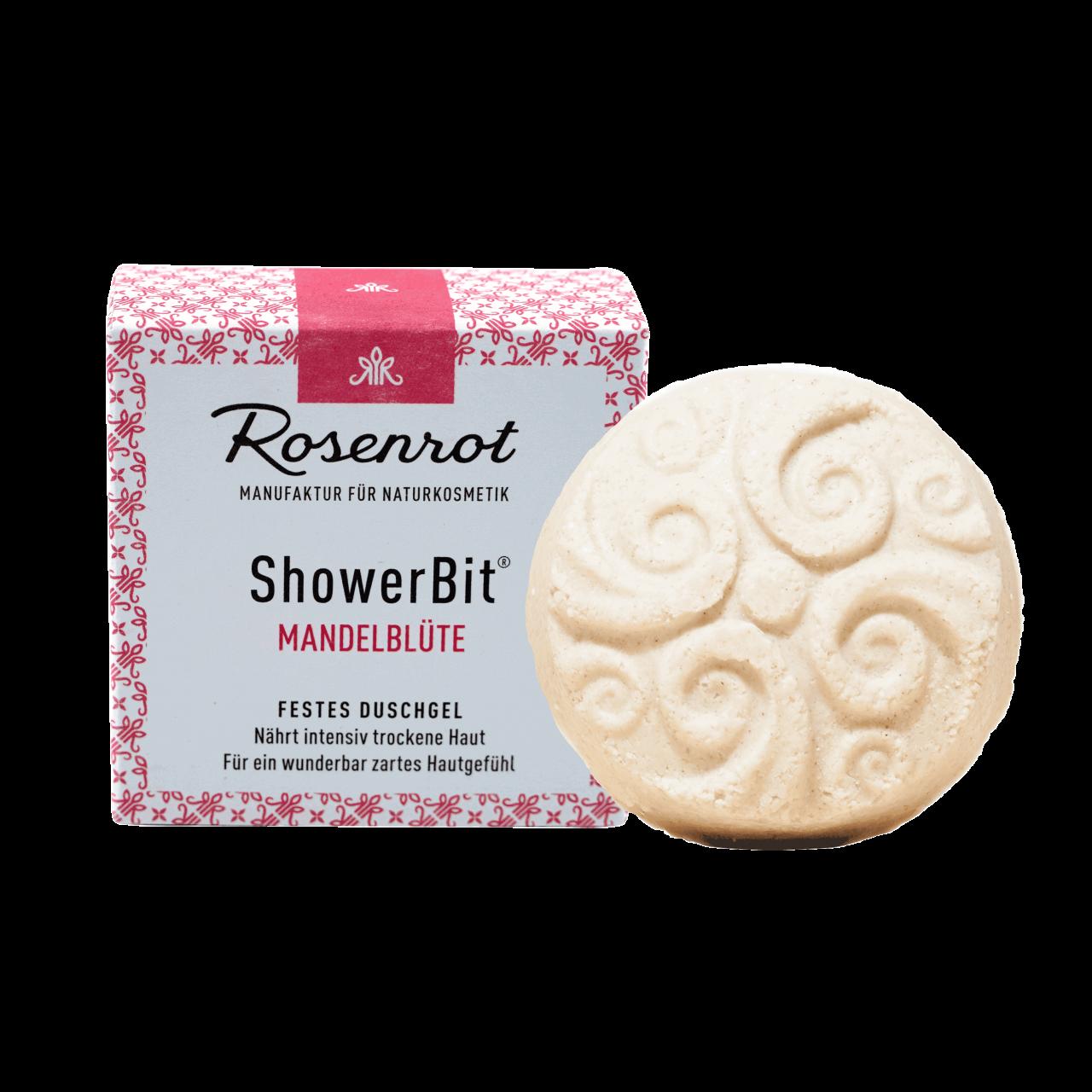 ShowerBit® - solid shower gel Almond Blossom