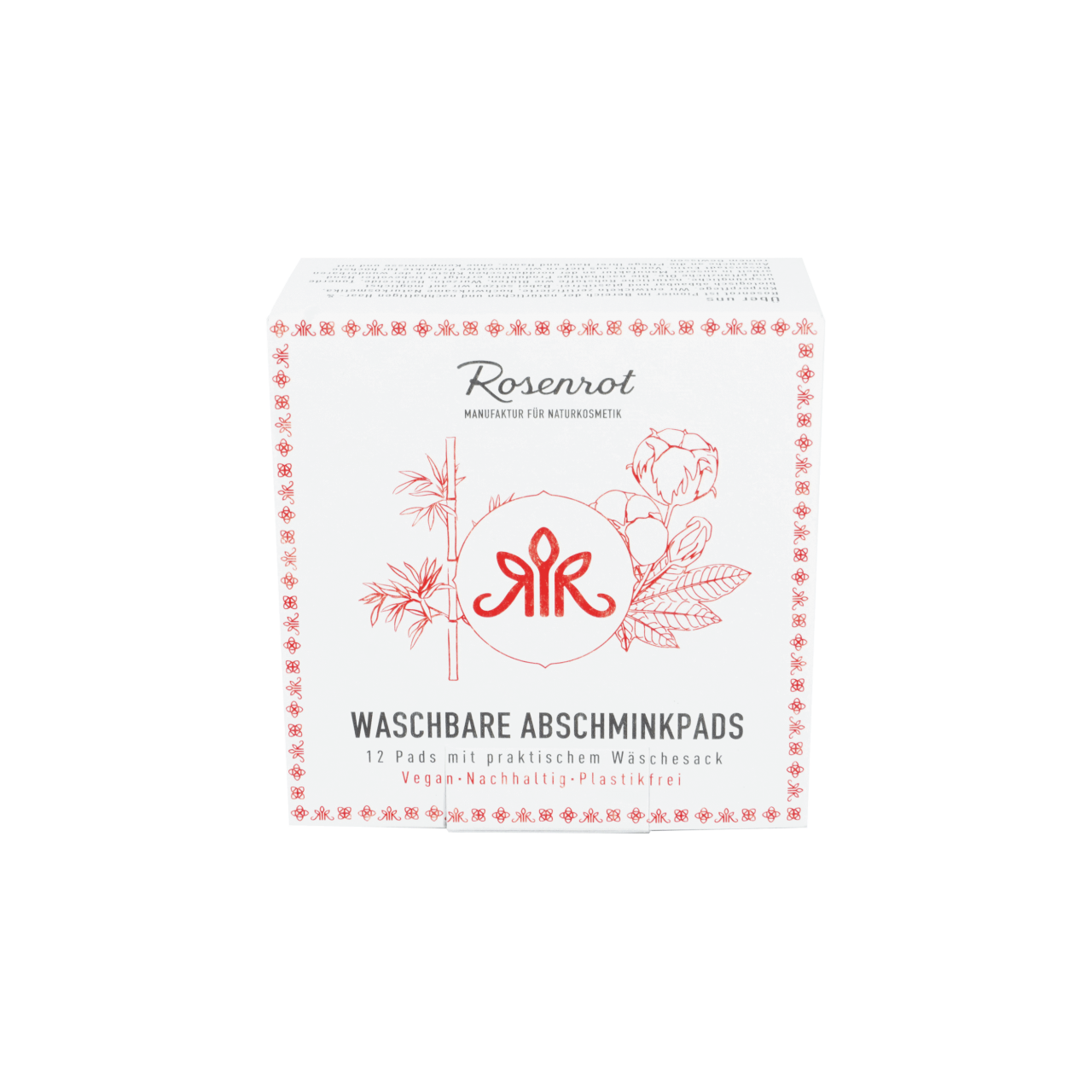 Washable makeup cleansing pads