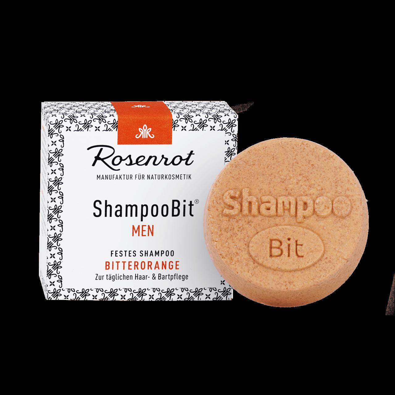 ShampooBit® - solid Shampoo MEN Bitter Orange