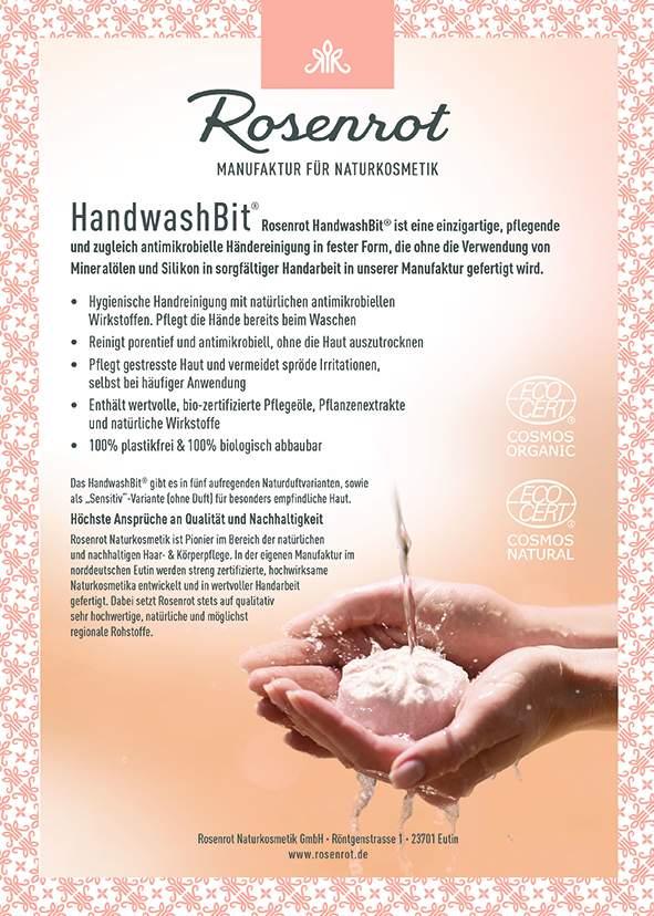 Standschild HandwashBit