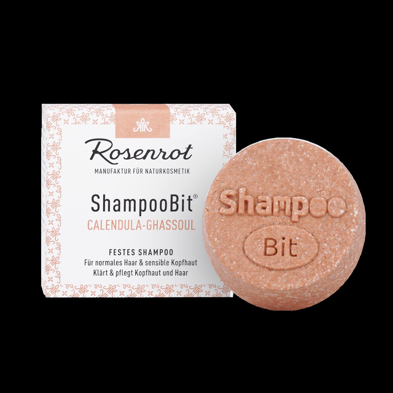 ShampooBit® - solid Shampoo Calendula-Ghassoul