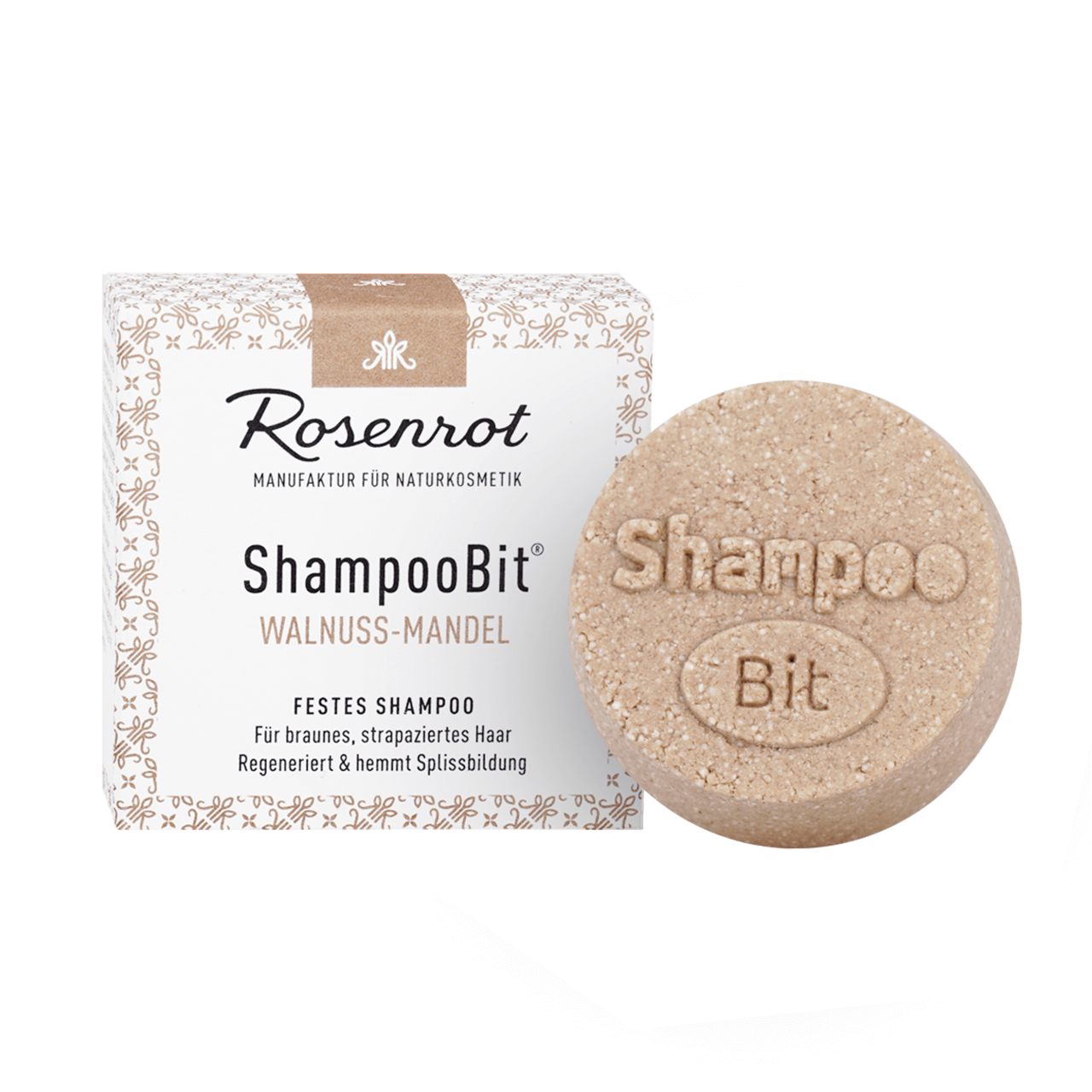 ShampooBit® - solid Shampoo Walnut-Almond
