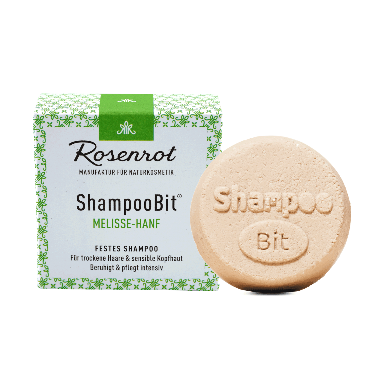 ShampooBit® - festes Shampoo Melisse-Hanf